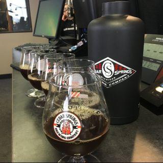 Cedar Springs Brewery Podcast-Starkbierfest