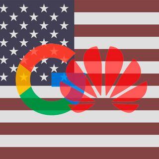 Google defiende a Huawei,  China secuestra el tráfico móvil de Europa, Publicidad en la pantalla de Huawei, el rapidísimo HongMeng de Huawei