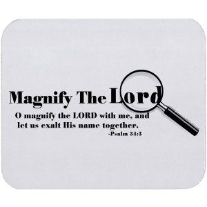 PRAYER- Let's Magnify and Exalt Him