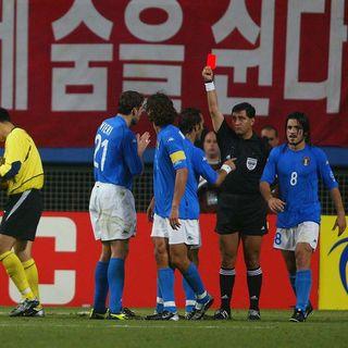 Eventyr eller skandale? Italienernes smertefulde exit mod hjemmebaneheltene Sydkorea ved VM i 2002