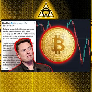 Elon Tweets, BITCOIN CRASHES! Is there hope Tesla working with Cardano ADA? {Audio #39}