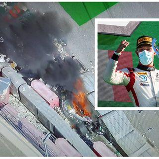 Luca Ghiotto, dopo la paura pronto a tornare in pista. Il pilota è uscito quasi illeso