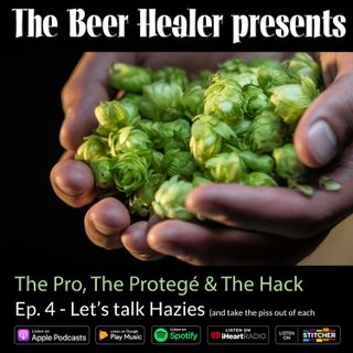 Ep. 78  - The Pro, The Protege & The Hack: Let's Talk Hazies (and take the piss out of each other). With Dave Padden (Akasha) & Ben Miller (