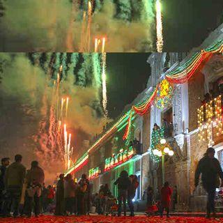 Inician festejos patrios en Zócalo capitalino