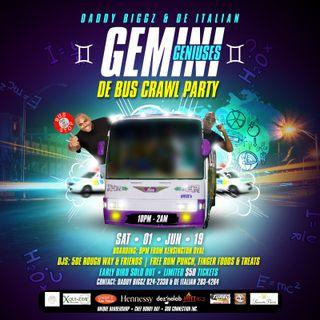 Gemini Geniuses Bus Party Promo Mix