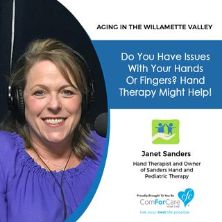 6/4/19: Janet Sanders with Sanders Hand and Pediatric Therapy | Do you have issues with your hands or fingers? Hand therapy might help!