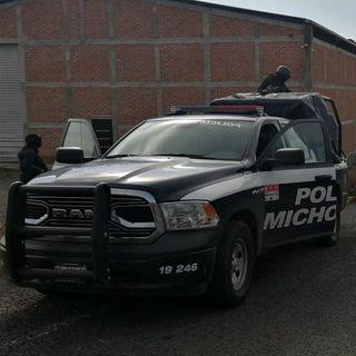 """Destrozos en Michoacán por captura de """"El Vocho"""""""