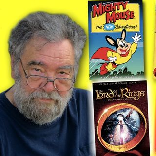 #323: Ralph Bakshi, animation legend, is here!