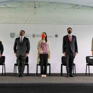 La jefa de gobierno de la Ciudad de México encabezó la inauguración de las Poliolimpiadas