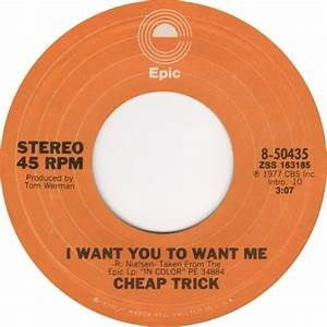 Cheap Trick - I Want You To Want Me - Time Warp Song of The Day