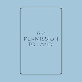 Experimento #EnPantufla 64 - Permission to Land