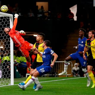 Chelsea survive late Watford scare