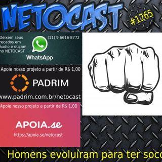 NETOCAST 1265 DE 09/03/2020 - Homens evoluíram para ter socos poderosos
