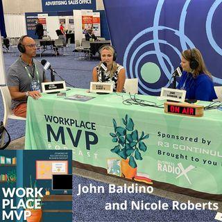 Workplace MVP LIVE from SHRM 2021: Nicole Roberts, MVAH Partners and John Baldino, Humareso
