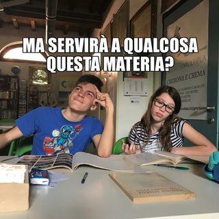#cr Quali sono le materie più inutili a scuola?