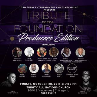 """Tribute To The Foundation - """"Producers Edition"""""""