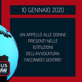 BREAKING NEWS – UN APPELLO ALLE DONNE PRESENTI NELLE ISTITUZIONI DELL'AVVOCATURA: FACCIAMOCI SENTIRE!