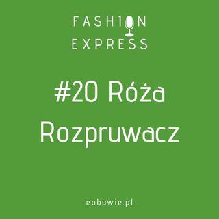 Stacja #020 - Agnieszka rozmawia z Różą Rozpruwacz o urokach szycia | FashionExpress