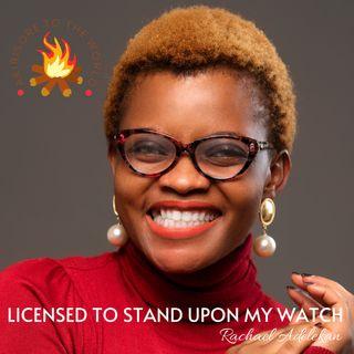 STANDING ON MY WATCH:INTERCESSORY PRAYER