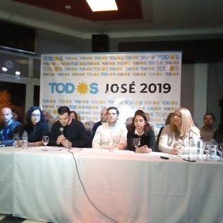 Conferencia de prensa Frente de todos Guaminí