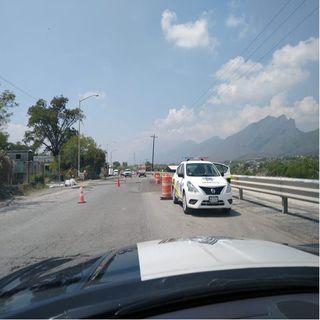 Sigue cerrada la autopista Monterrey-Nuevo Laredo