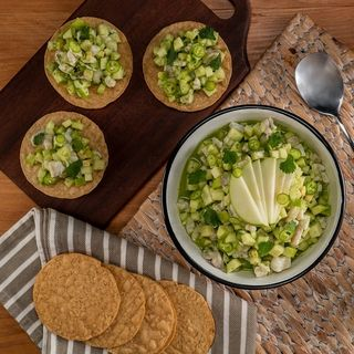 Ceviche de Manzana Verde