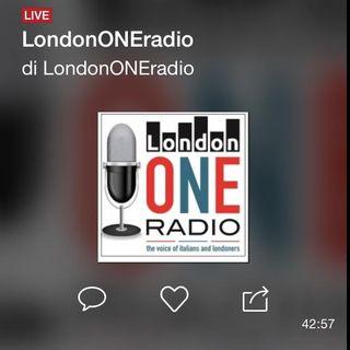 LondonONEradio diretta 22/08/2015 fringe e musica, notizie e curiosita'