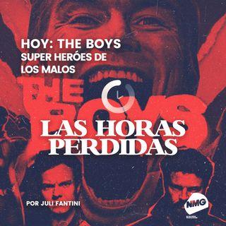 The boys, superhéroes de los malos