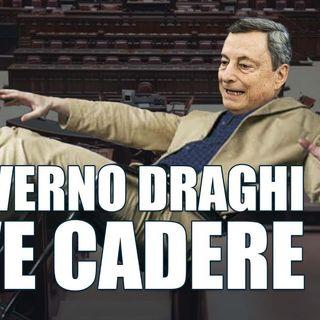 Il governo Draghi deve cadere - Dietro il sipario - Talk show