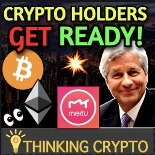 Bitcoin & Ethereum Added To Software Company's Treasury & JP Morgan Crypto Primer