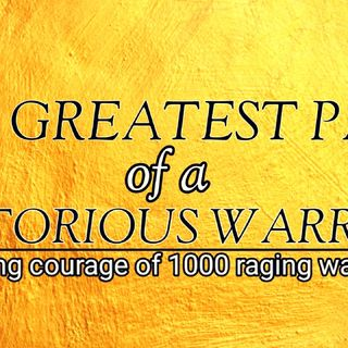 VICTORY AFFIRMATIONS | THE PATH OF A WARRIOR| ALPHA AFFIRMATIONS