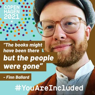 """28. """"The books might have been there but the people were gone"""" - Finn Ballard"""