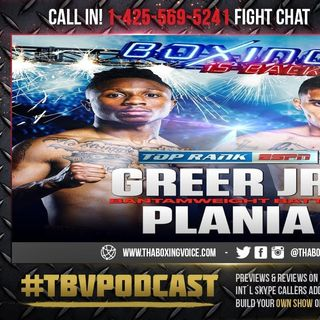 ☎️Joshua Greer Jr. vs. Mike Plania🔥Live Fight Chat ESPN Boxing 🥊