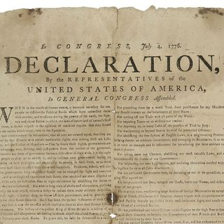 Episode 12 - Declaration of Independence
