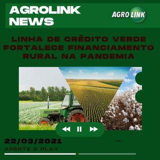 Agrolink News - Destaques do dia 22 de março