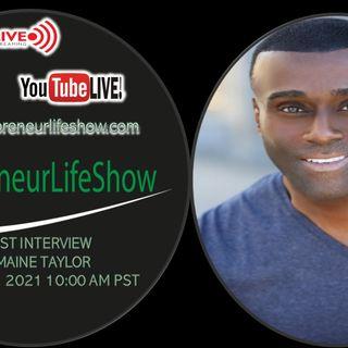 Jermaine Taylor Entertainer, Artist Entrepreneur