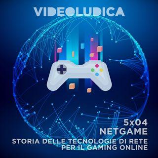 VL 5x04: NETGAME, Storia delle tecnologie di rete per il gaming online