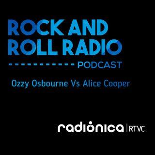 Ozzy Osbourne Vs Alice Cooper