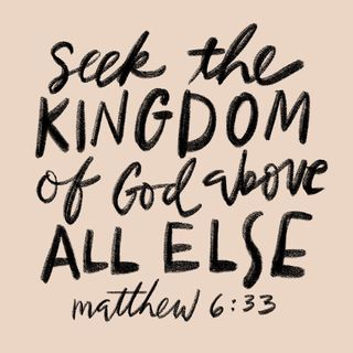 Episode 157: Matthew 6:33 (June 6, 2018)