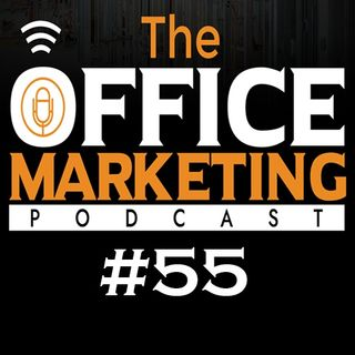 The Office Marketing Podcast #55 - Amy Linton, how to manage the operations of a big Company.