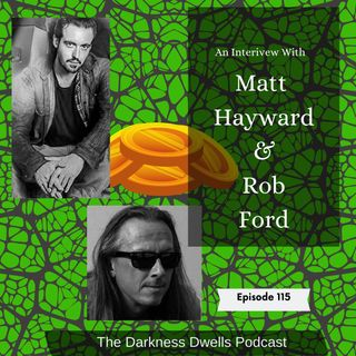 DD Episode 115: Matt Hayward & Robert Ford and Brain Damage (1988)