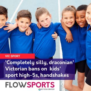 'Completely silly, draconian' - no high fives, handshakes or contact for Vic kids in community sport