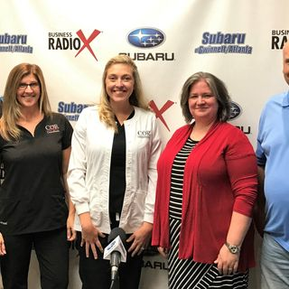 Bonnie Matthews & Nicole Denham with COR Consultants and Kim White with AMC Theatres