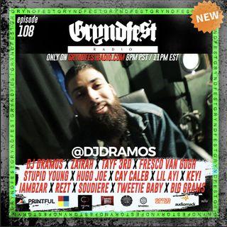 [6/3] #GryndfestRadio Ep.108 Interview w/ @djdramos & @djnotag_ mix by: @dinner_Land @audiomack