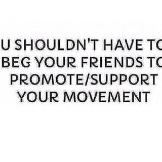 """Supporting """"Friends, Family Or People You Know""""..."""