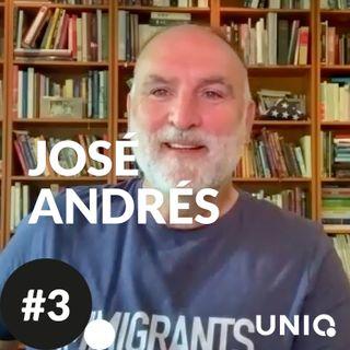 UNIQ #3. José Manuel Calderón conversa con José Andrés