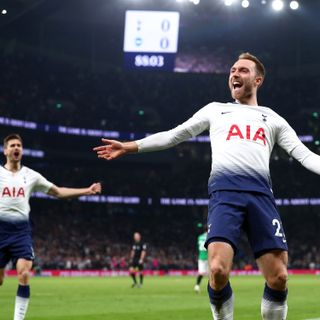 Eriksen fires late on to secure victory for Spurs