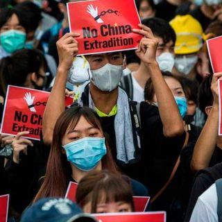 Proteste a Hong Kong contro la nuova legge sulla sicurezza nazionale, 180 arresti