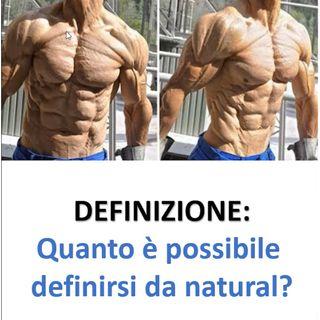 Massimo grado di definizione muscolare