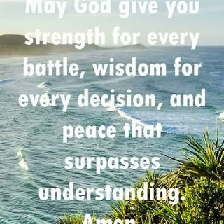 Morning Devotion for spiritual warfare (Luke 10:19)